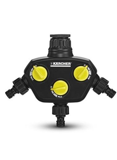 Karcher 2.645-200.0 Üç Çıkışlı Musluk Adaptörü Debi Ayarlı Renkli